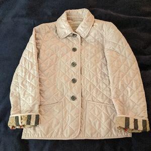 Burberry jacket girl 10 yo